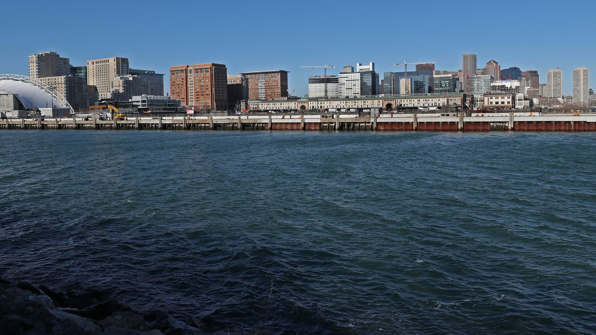 Proposed Expansion of Decommissioned Dry Dock In Boston