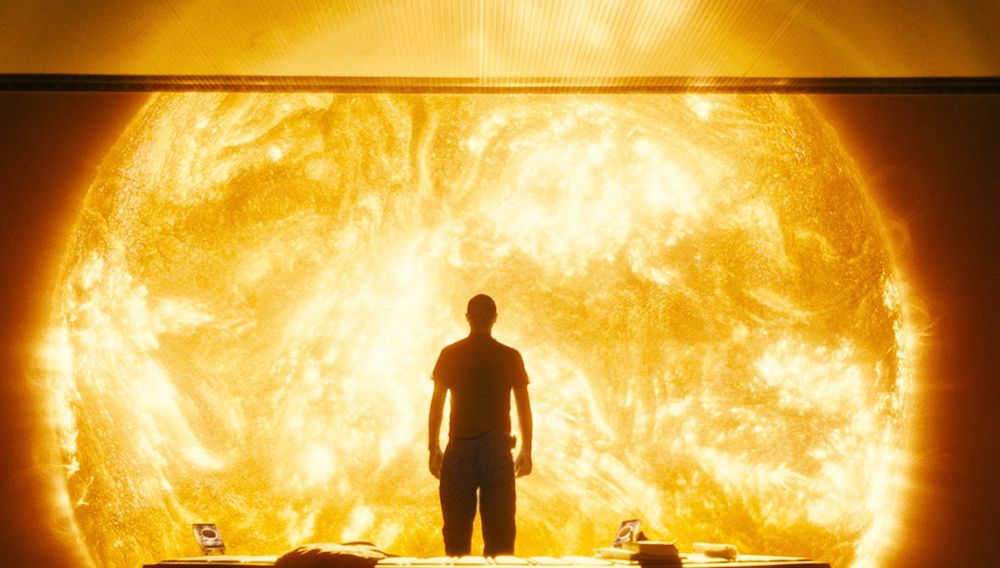 Cliff Curtis on the Icarus II, a spaceship on a mission to save the Earth in Danny Boyle's Sunshine.