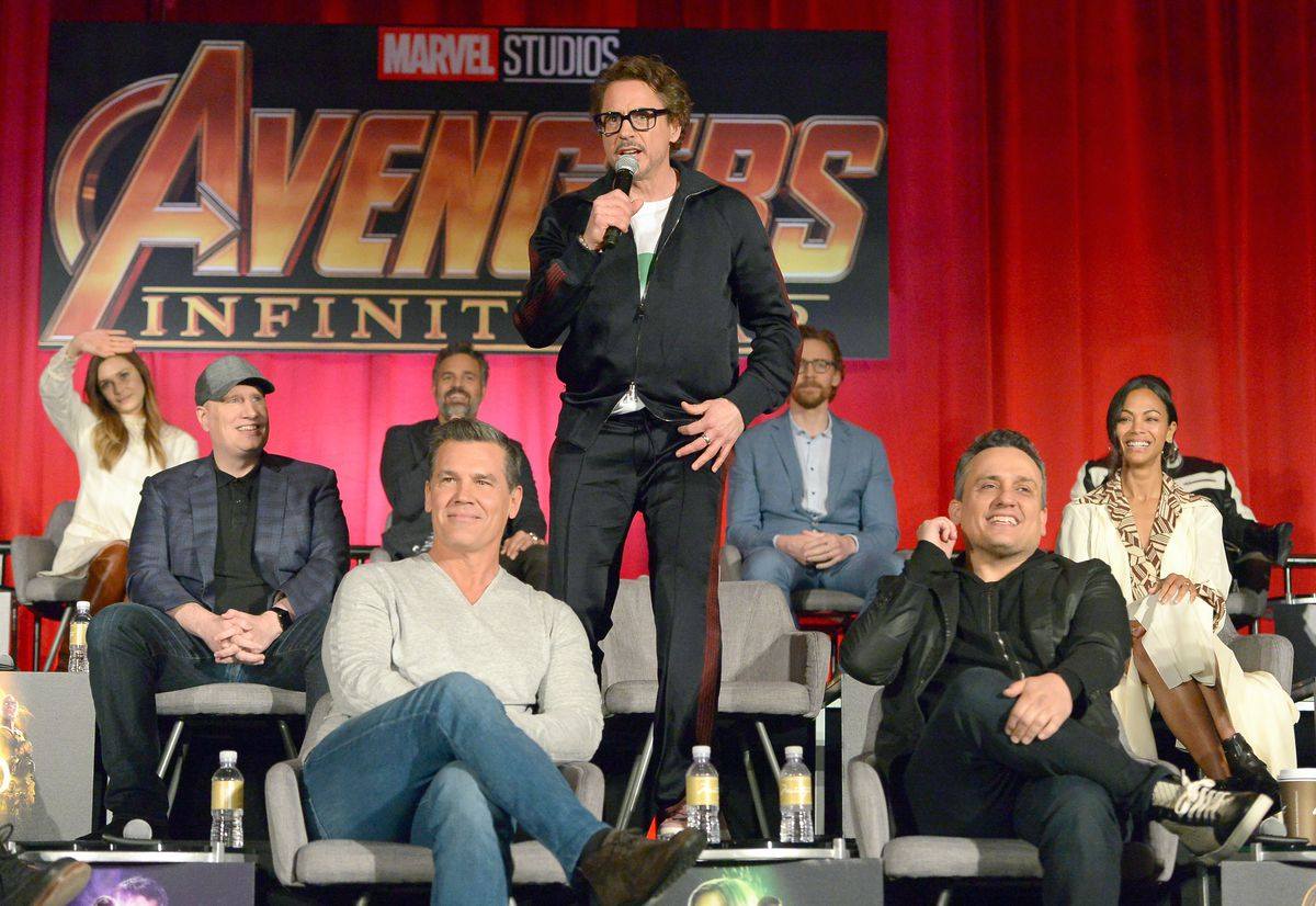 'Avengers: Infinity War' Global Press Conference