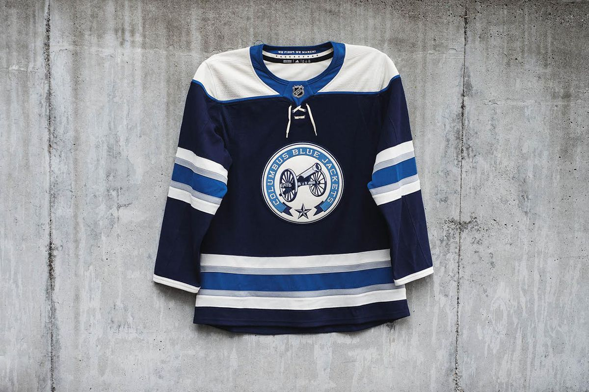 timeless design 7335a 826b3 Columbus Blue Jackets Unveil New adidas Third Jerseys - The ...