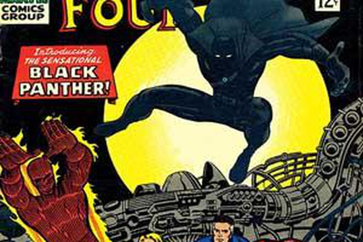 Fantastic Four No. 52, the first appearance of Jack Kirby's Black Panther.