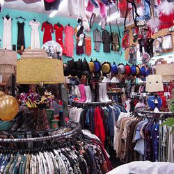 """Continue your oddball overload and head next door to Ozzie Dots (4637 Hollywood Blvd), a <a href=""""http://la.racked.com/archives/2013/03/06/where_artist_america_martin_shops_in_los_feliz_for_fun_props.php"""">vintage emporium</a> known for its crazy costumery"""
