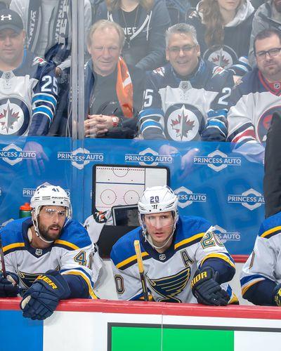 St. Louis Blues v Winnipeg Jets