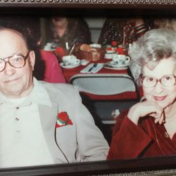 Larry Potash's grandparents, Ronald and Doris Fraser.   Provided