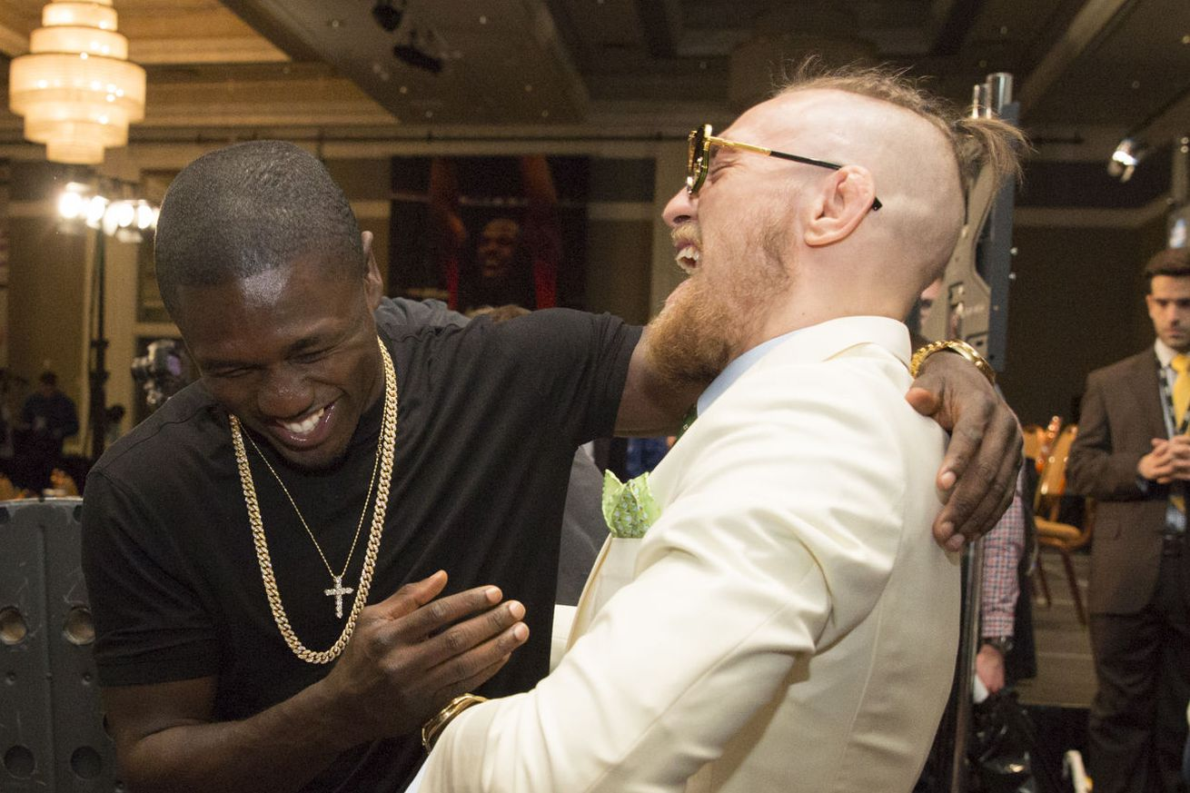 community news, Andre Berto believes 'special' Conor McGregor has a legitimate shot at beating Floyd Mayweather