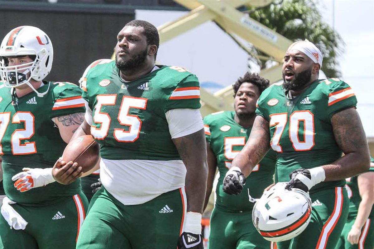 size 40 7ee88 c1332 Miami Hurricanes 2019 Position Preview: Offensive Line ...