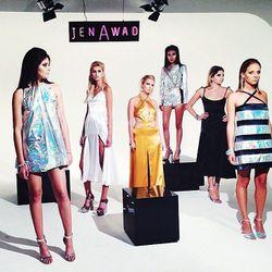 "<span class=""credit"">Jen Awad's futuristic time warp. [Photo <a href=""http://instagram.com/p/fcVPIAqTRM/"">via</a>]</span>"