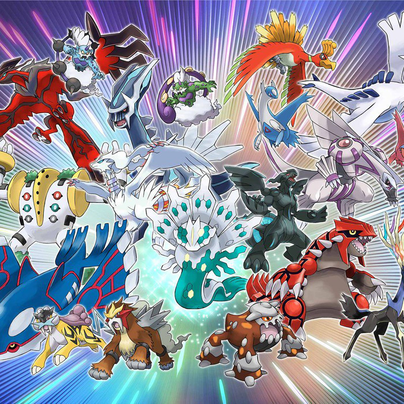 Legendary Pokémon Downloads Available Throughout 2018 Polygon