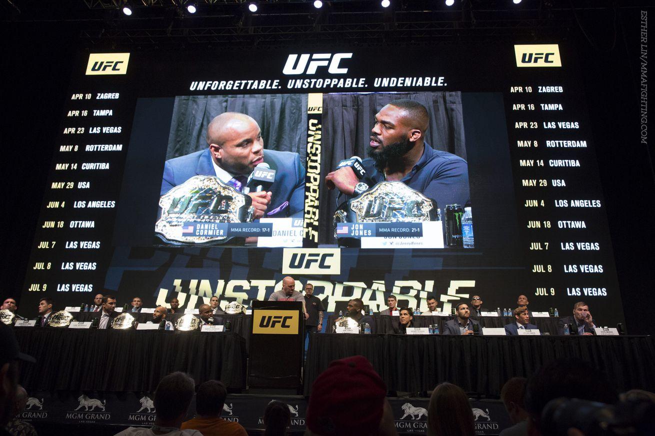 community news, UFC 214 poster revealed