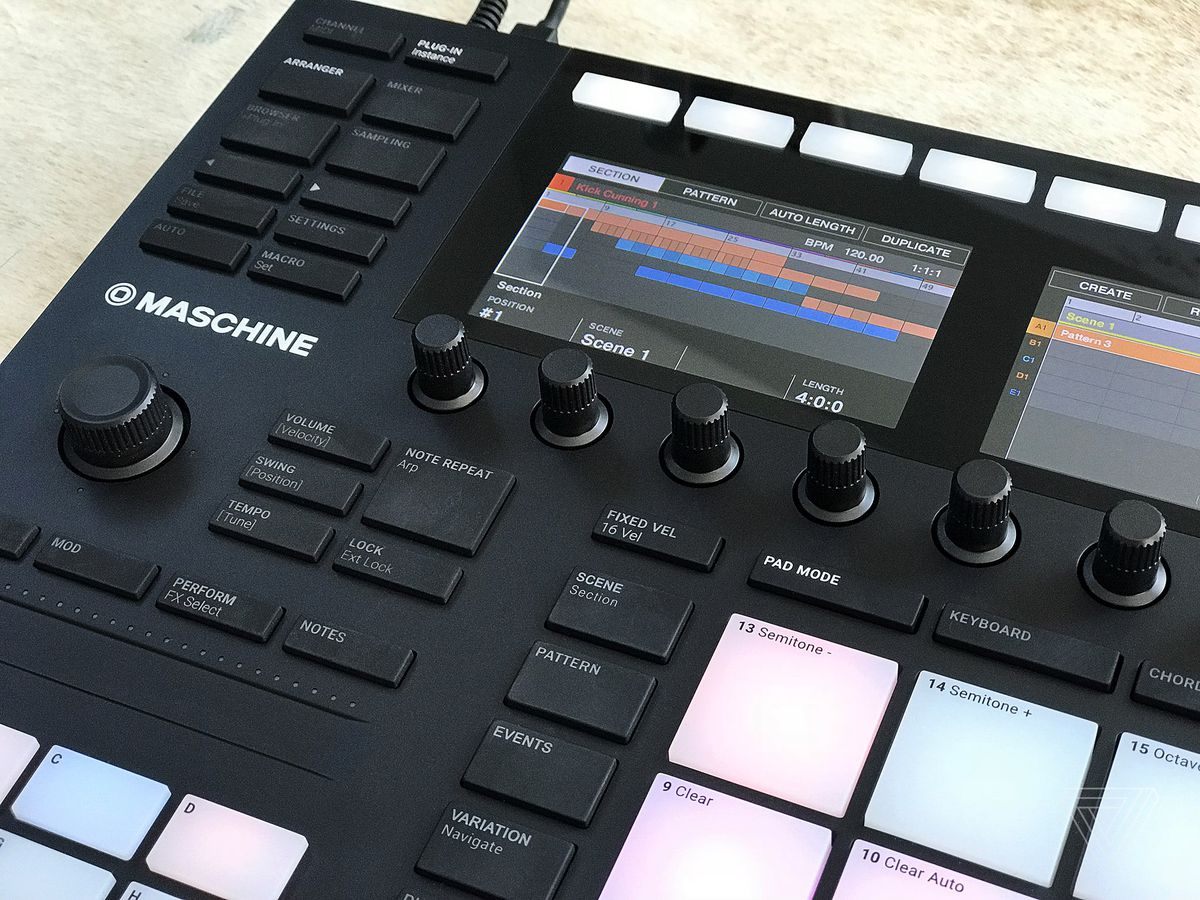 Native Instruments Maschine Mk3 Review An All In One Music Making Chapter I39ve Created Overview Diagram Of The Entire Gear Setup A Lot Thoughtfulness Has Been Lent To Navigation General But Not It Succeeds I Found For Example That Didnt Use Mk3s New Push