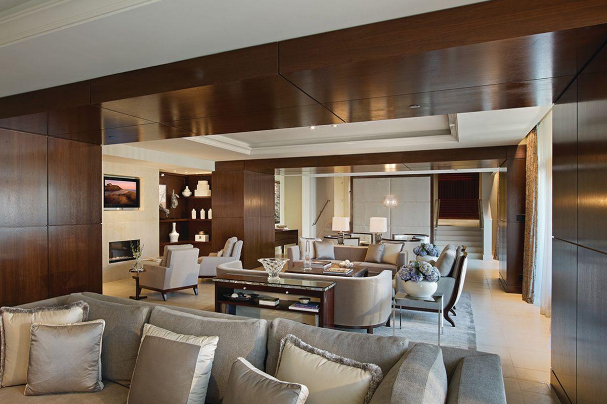 D.C.'s priciest hotel suite