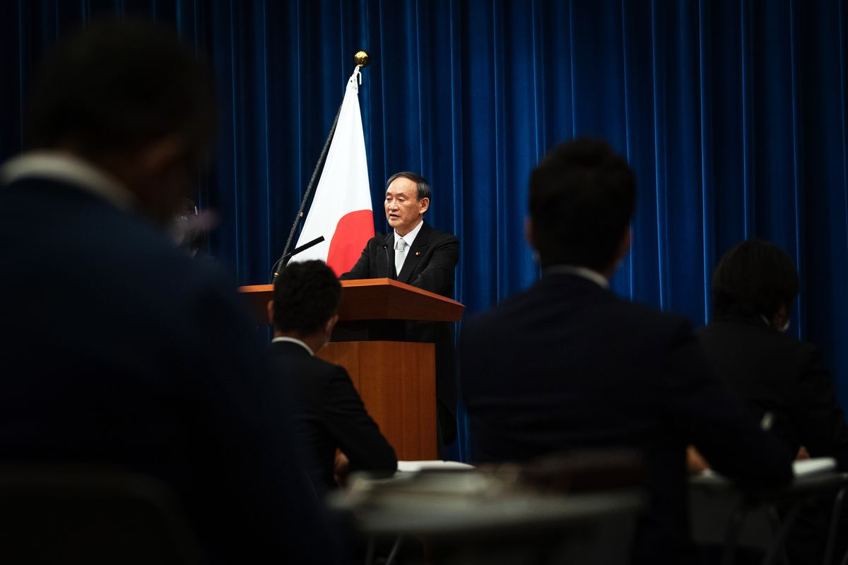 Japan's new Prime Minister Suga Yoshihide faces a year of crisis
