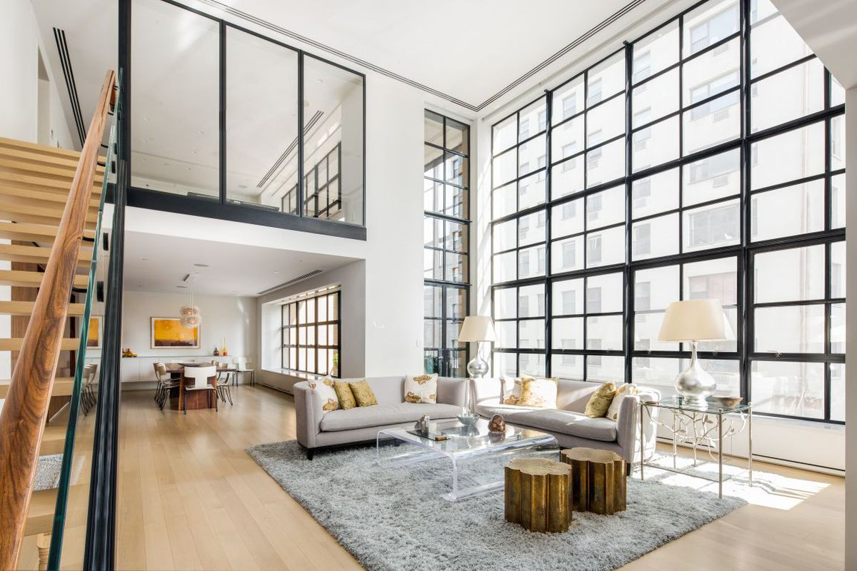 For 18m a gut renovated west village duplex with design for Teich design west village