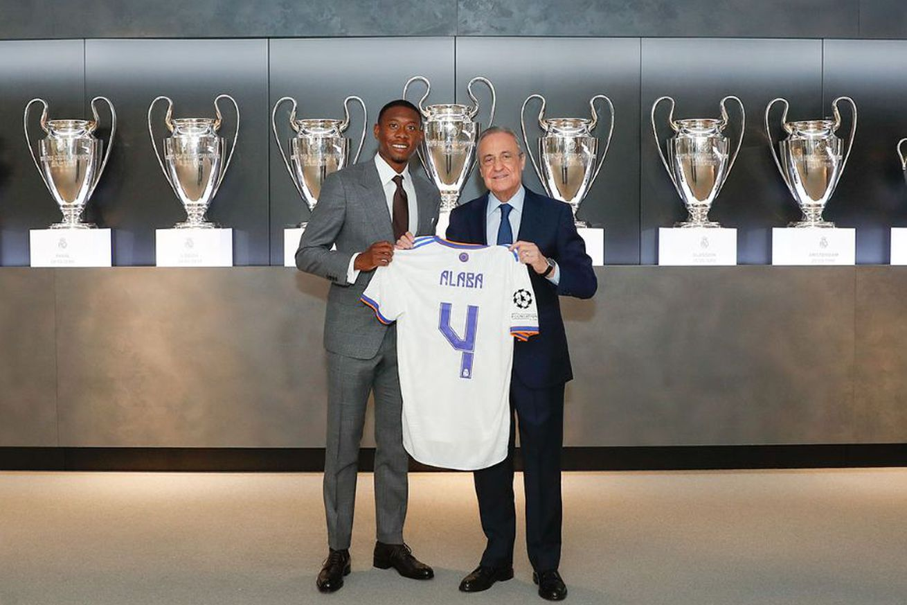 Alaba will wear Real Madrid?s number 4
