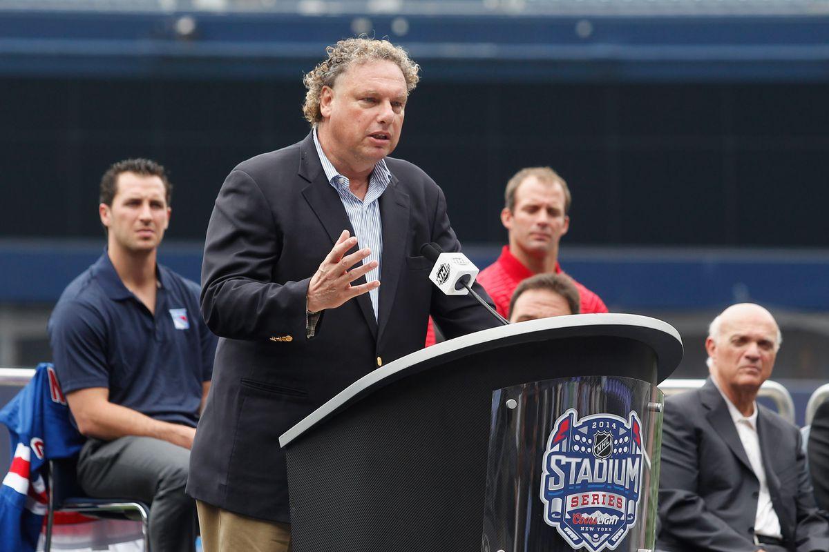 2014 NHL Stadium Series Media Availability