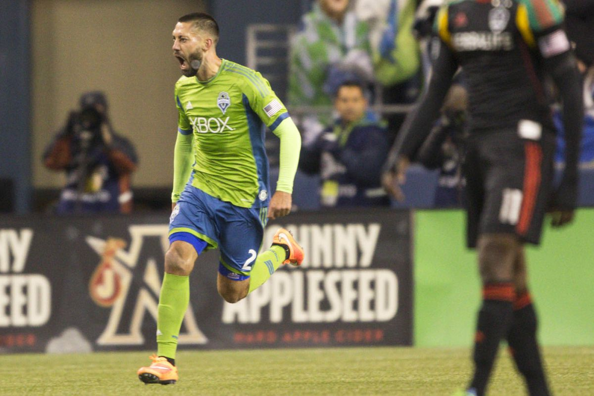 44858cbda Clint Dempsey returns to Sounders training - Sounder At Heart