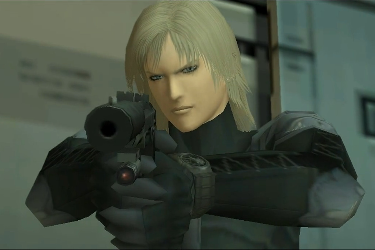 Raiden from Metal Gear Solid 2: Sons of Liberty