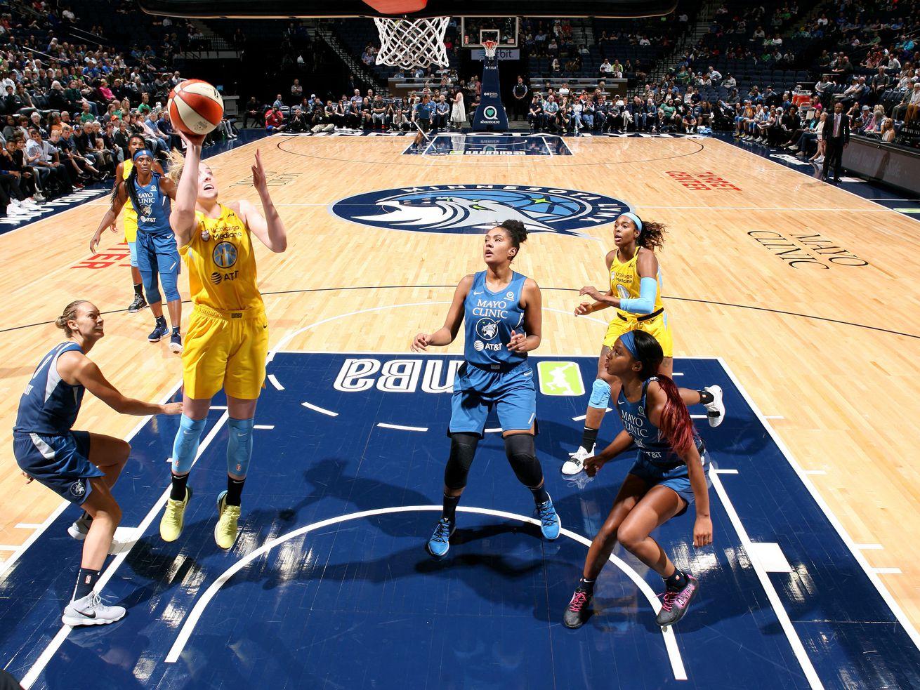 Open season on Sky as Lynx — led by pair of rookies — romp 89-71