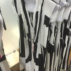 Draped bodice dress, $150