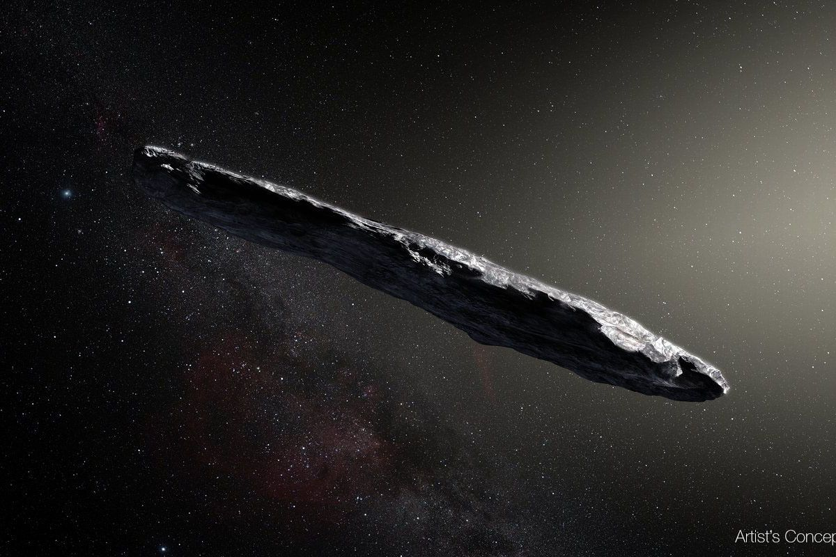 Image result for 'oumuamua