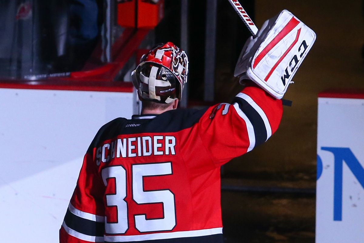 Cory Schneider was the hero last Saturday. Can he get some more support tonight?