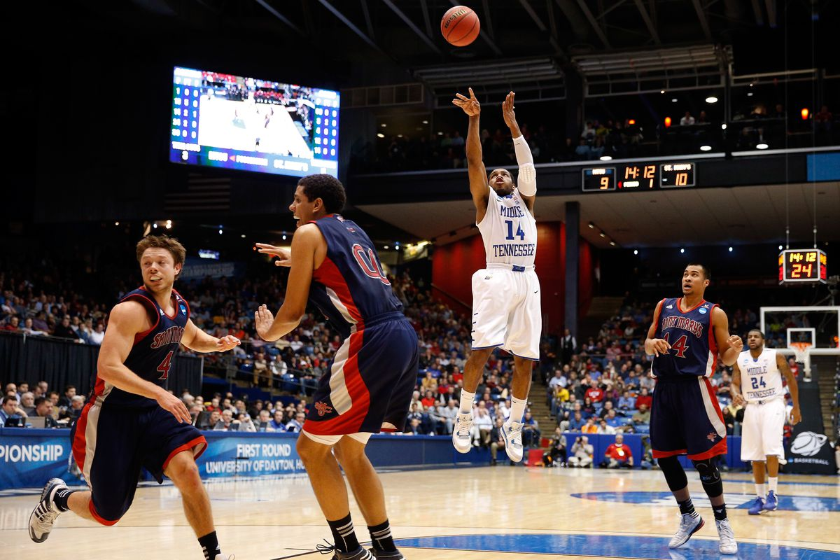 Saint Mary's v Middle Tennessee