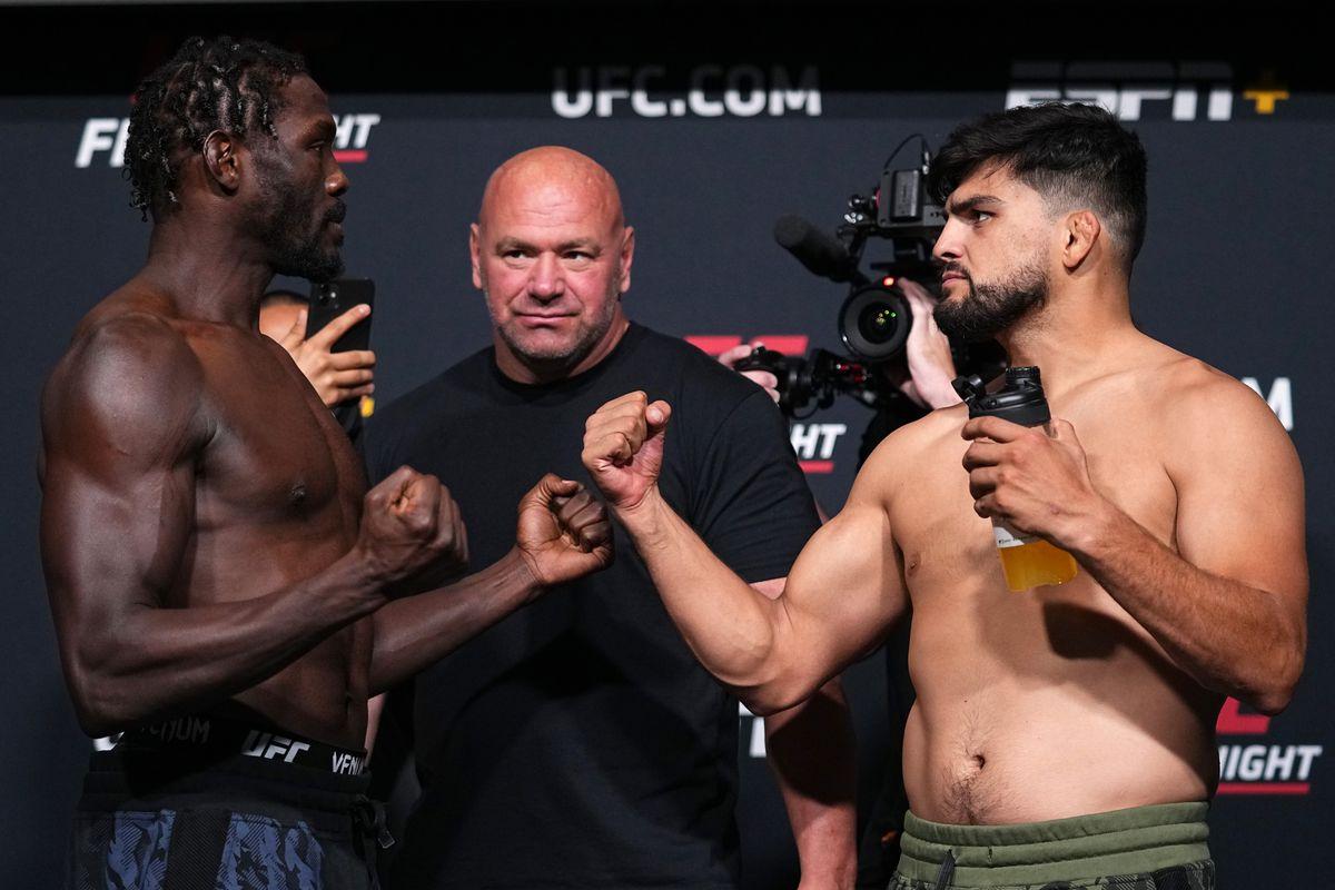 UFC Fight Night: Cannonier v Gastelum Weigh-in
