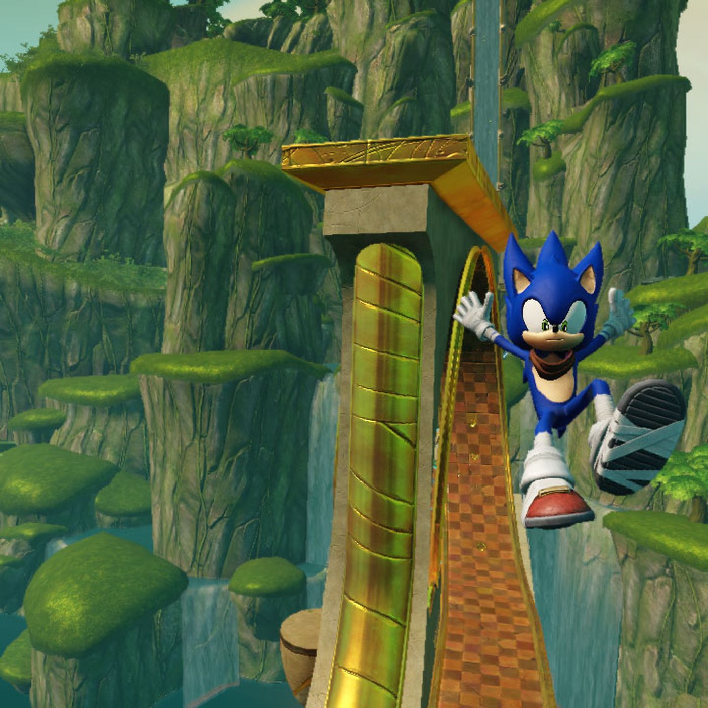 Sonic Series Nature Versus Machines Struggle Is Heightened In Sonic Boom Polygon