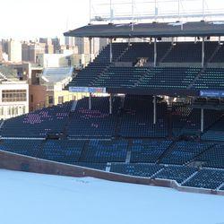 Right-field corner