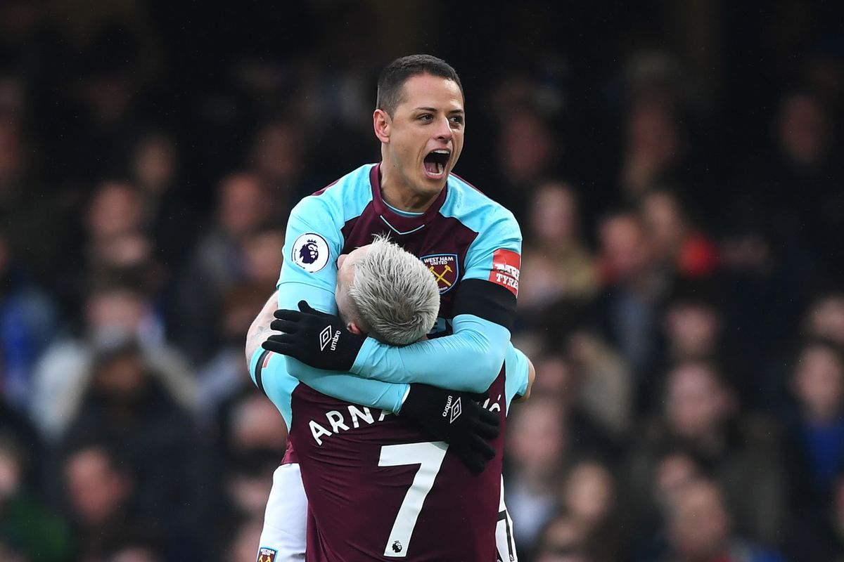 cheap for discount 93934 8c2d7 FT: Chelsea 1-1 West Ham - Chicharito the sub hero as ...