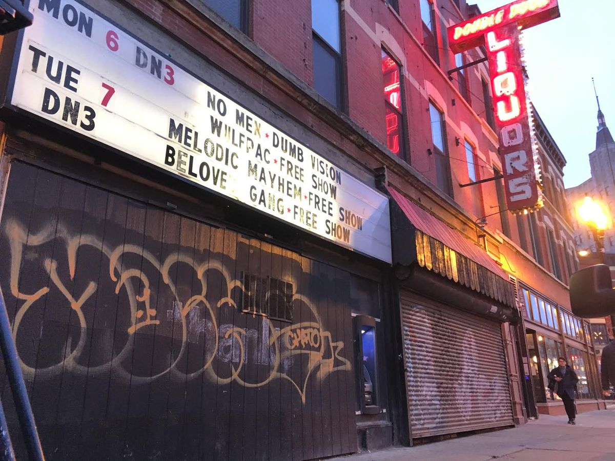 The former Double Door music club   Sun-Times file photo