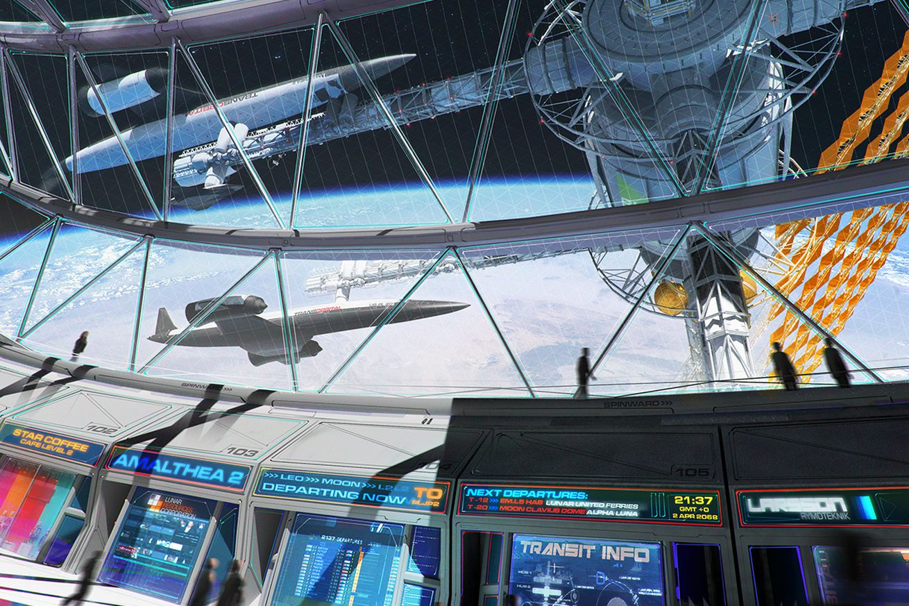 this free science fiction anthology is all about the future of space exploration