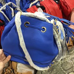 Lexi bucket tote, $185 (was $375)