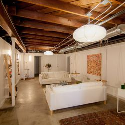 """The Springs's wellness room is a dreamy all-white space. Services include massages, acupuncture, infrared sauna sessions, and more. Check out the full list of treatments <a href=""""http://thespringsla.com/wellness/"""">here</a>."""