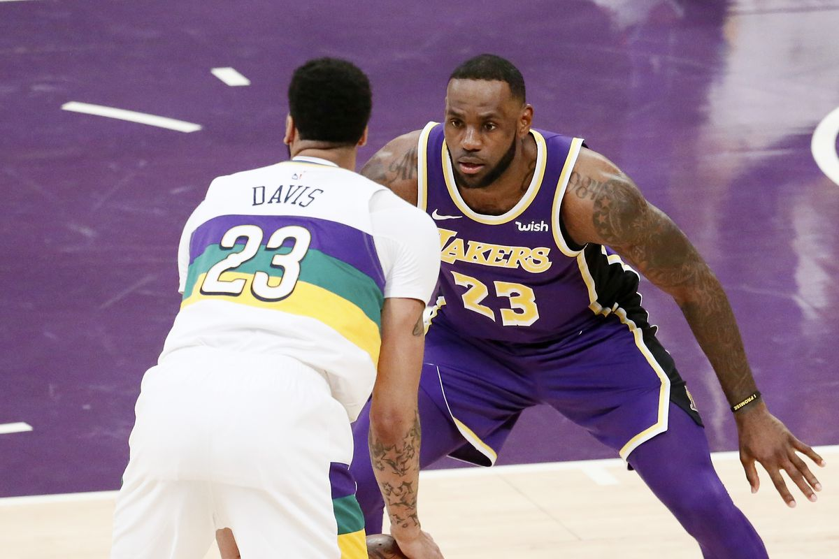 size 40 9933d f6379 Lakers rumors: LeBron James can't give Anthony Davis No. 23 ...