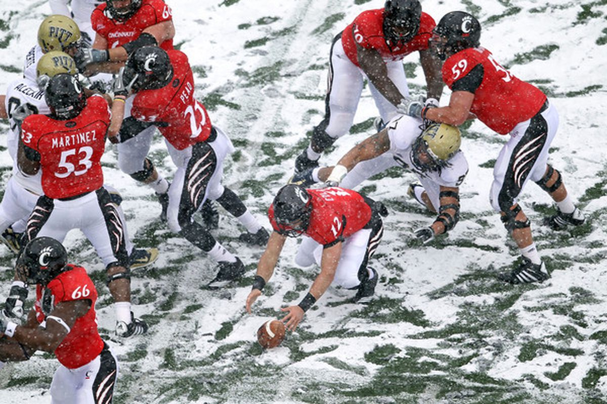 The Bearcats will need to see fewer scenes like this to make the postseason in 2011.