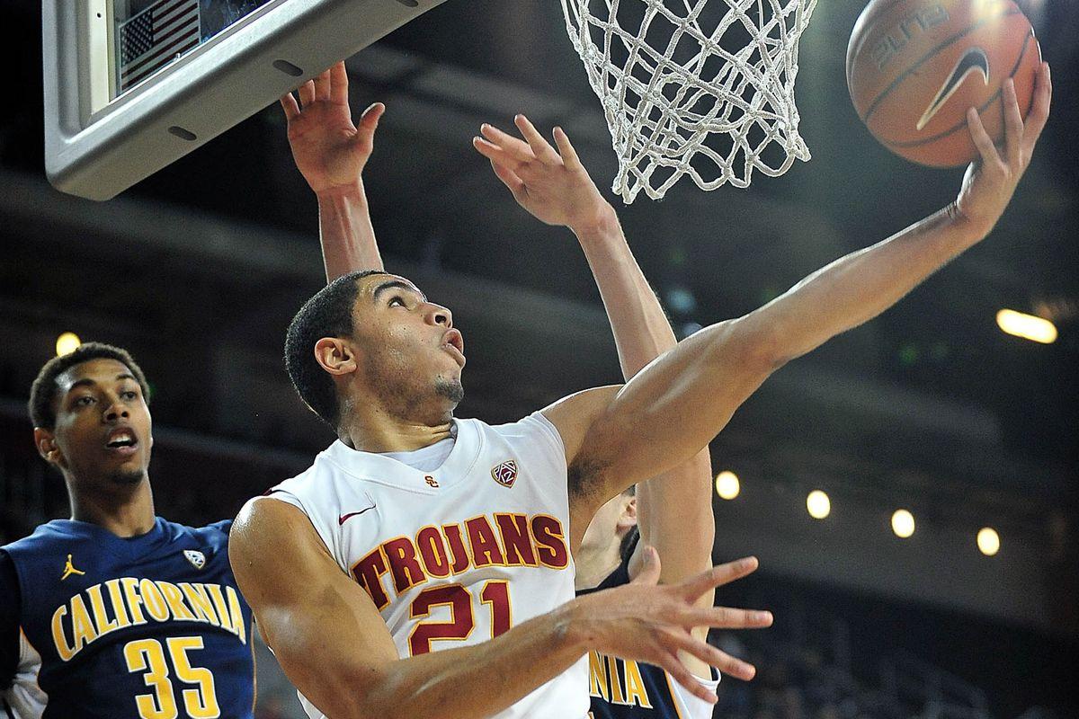 Aaron Fuller, seen here earlier in the season against Cal, had the game-winning basket.