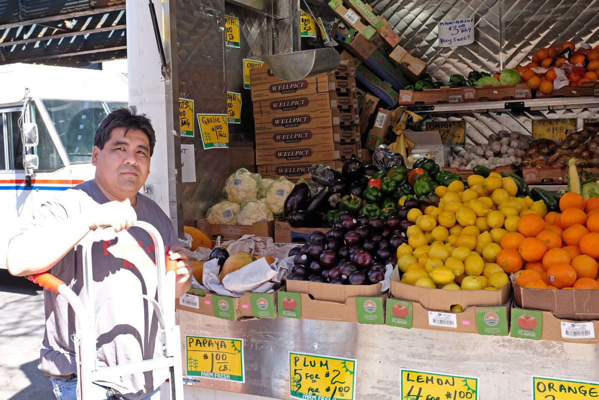 """""""People need (the clinic),"""" said Angel Torres, who's worked in the area for 18 years, selling fruits and vegetables. """"People need some help."""""""