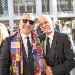 Cesare Casella (left)