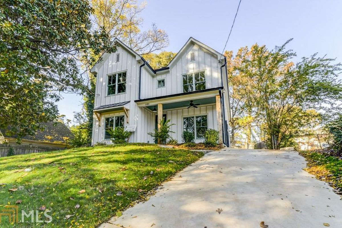 A new urban farmhouse for sale in Atlanta.
