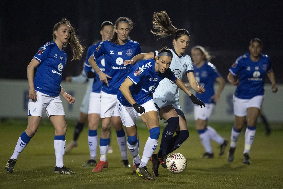 Everton Women v Chelsea Women - Barclays FA Women's Super League