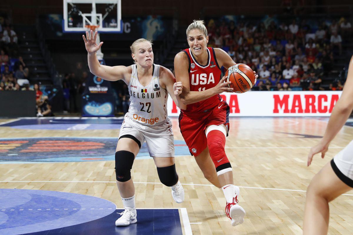 2018 FIBA Women's Basketball World Cup Semifinals - USA v Belgium