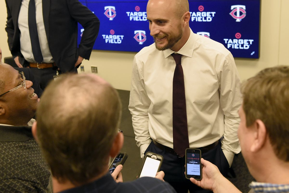 Minnesota Twins Introduce Rocco Baldelli