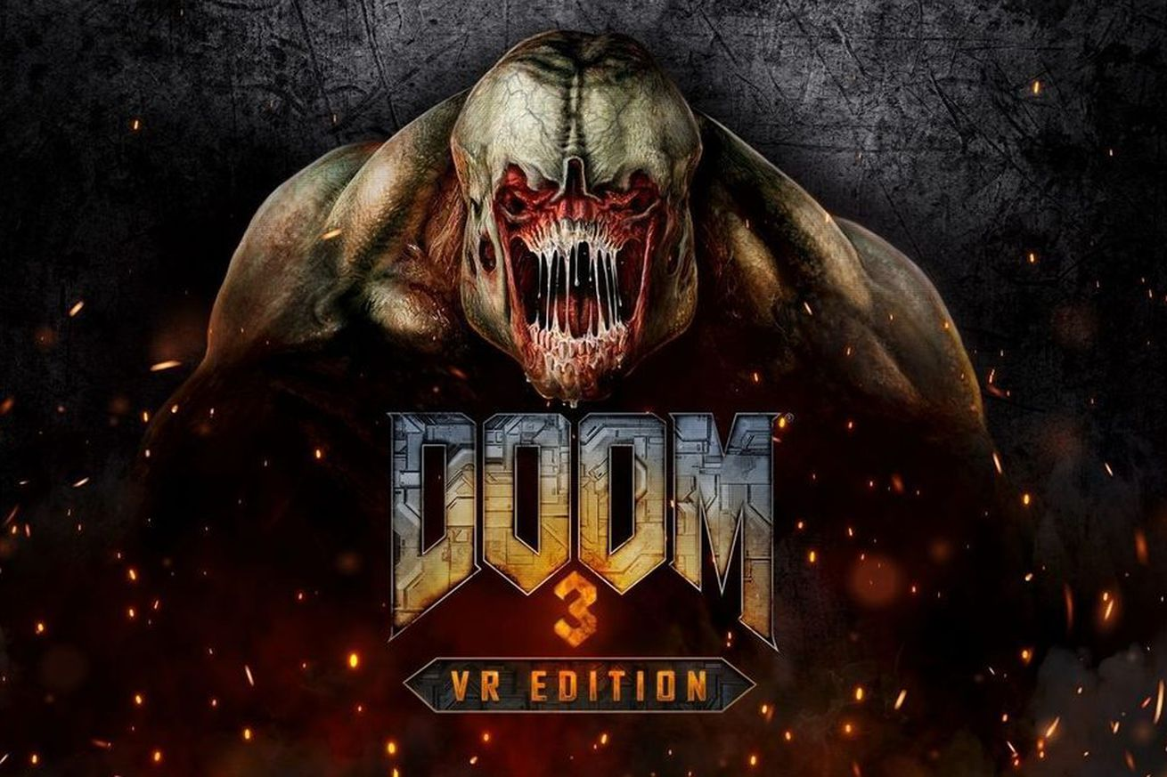 Doom 3 VR Key Art