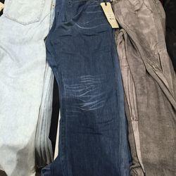 Women's jeans, $85