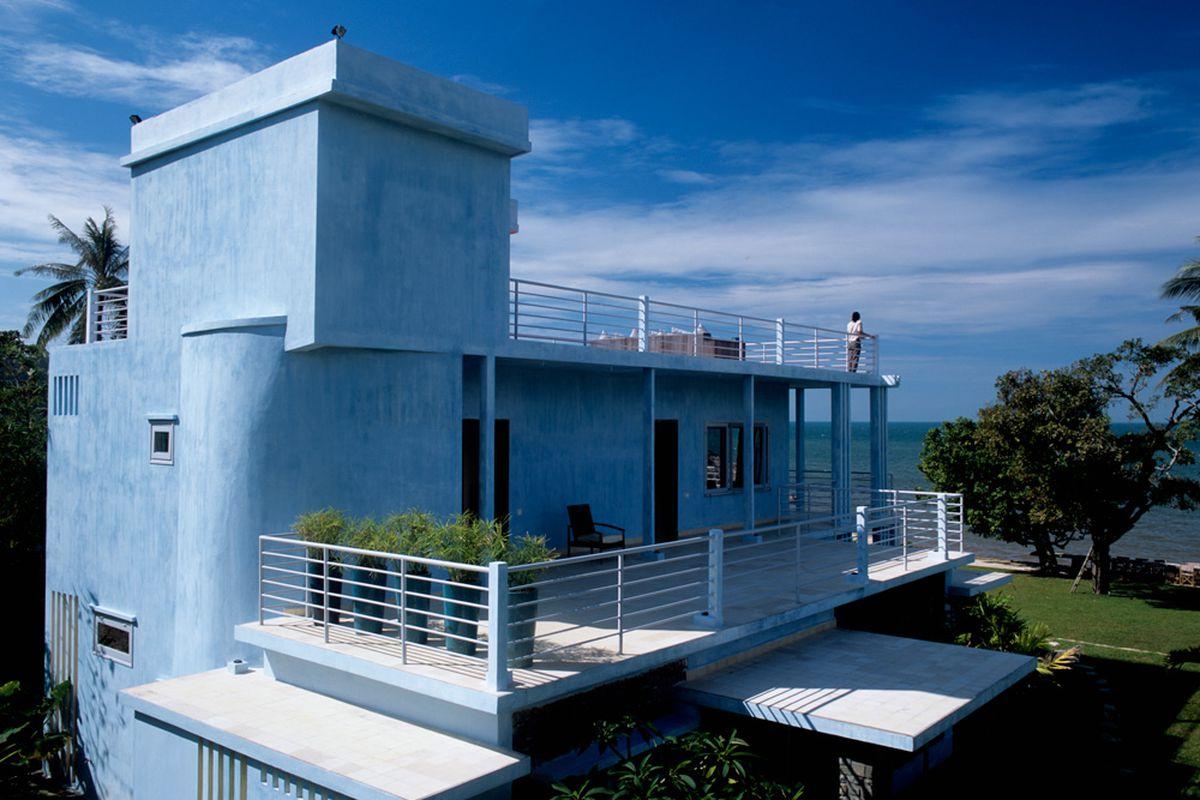 Three historical villas in the Cambodian seaside community of Kep were converted into the luxury resort Knai Bang Chatt. Photo courtesy of Knai Bang Chatt.