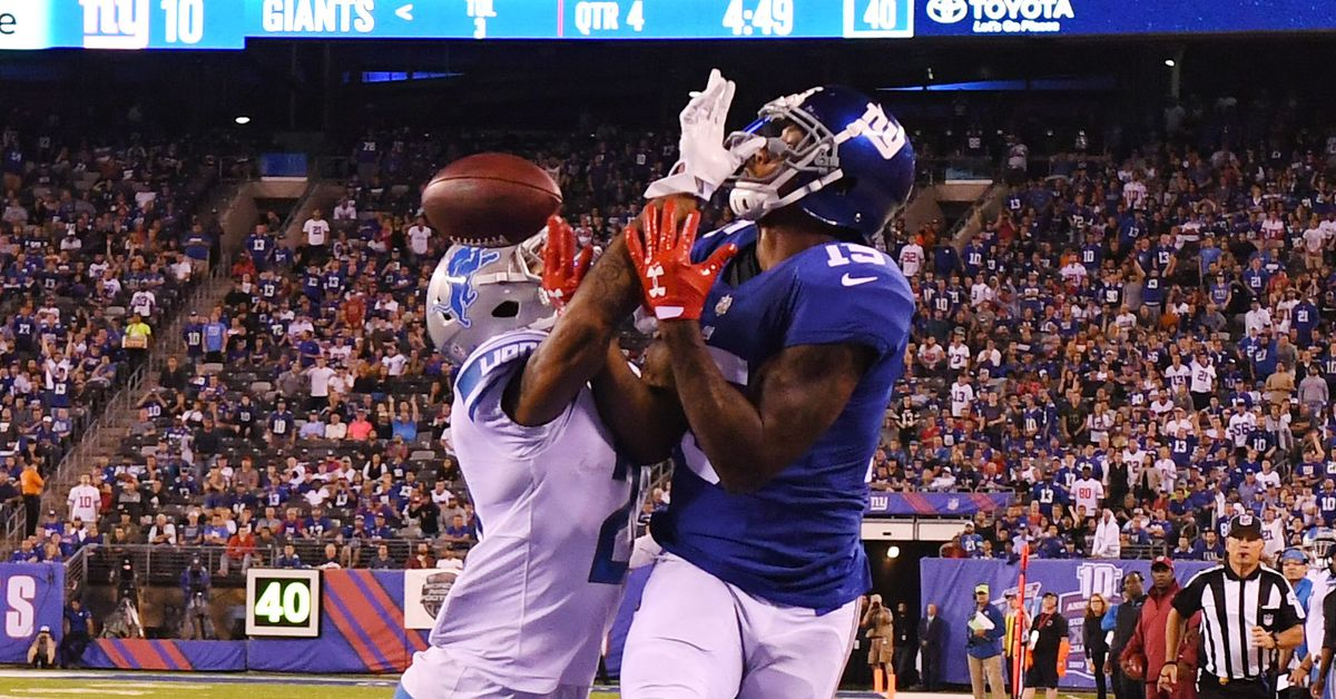 Detroit Lions vs. New York Giants joint practice live updates: Day 1