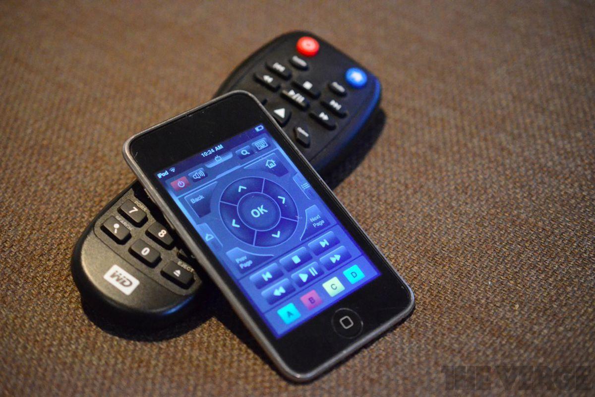 WD TV Live Hub remote iOS