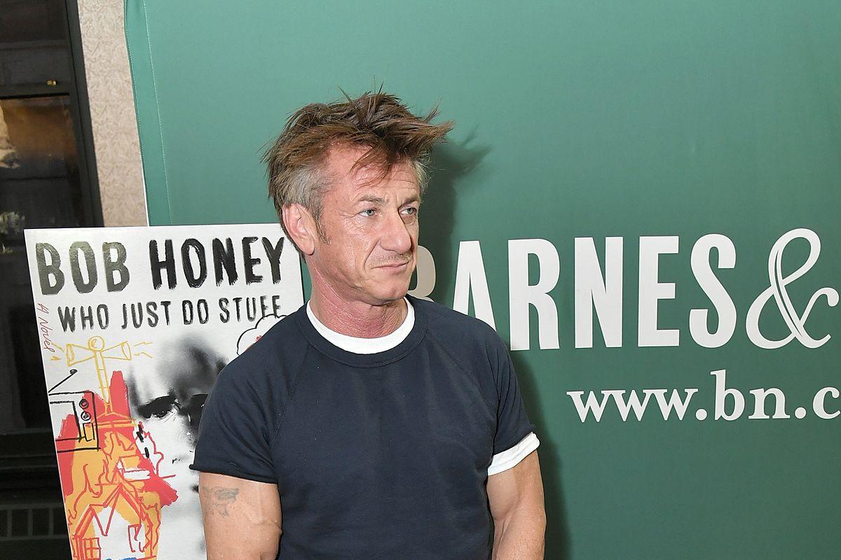 Sean Penn Discusses His New Book 'Bob Honey Who Just Do Stuff: A Novel'