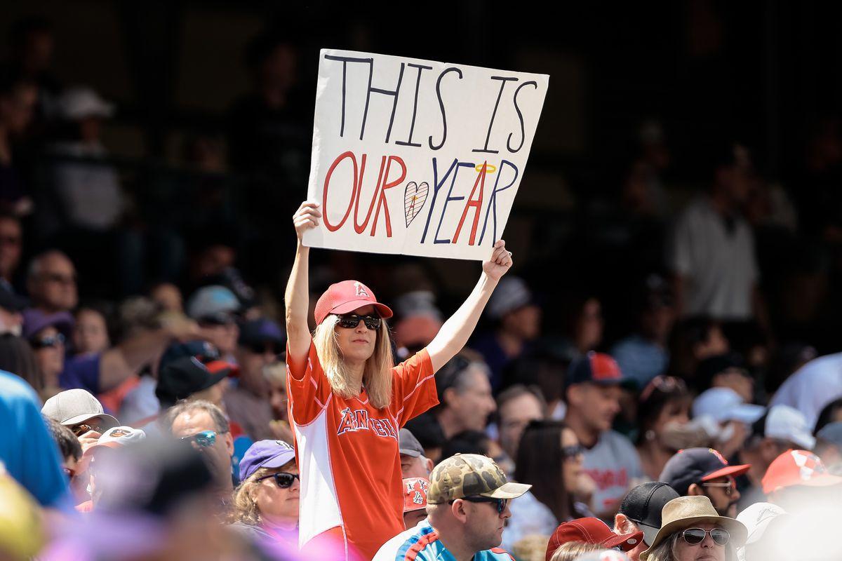 MLB: Los Angeles Angels at Colorado Rockies